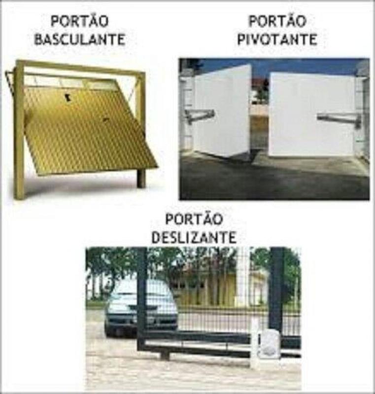 Empresa de Instalação de Portão de Garagem Jardim São Luiz - Instalação de Portão com Motor