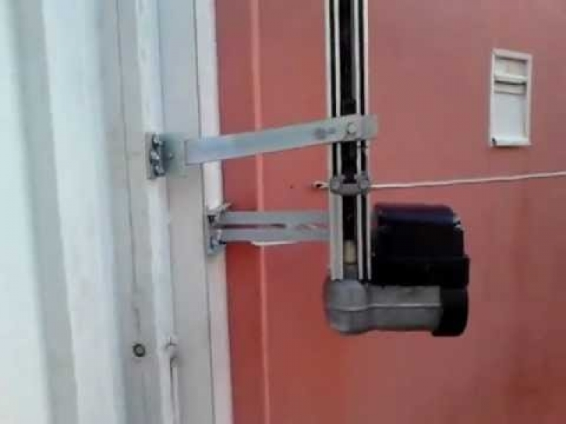 Empresa de Instalação de Portões Elétricos Santo André - Instalação de Motor para Portão Deslizante