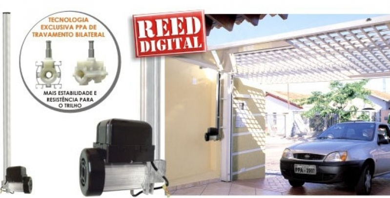 Instalação de Motor de Portão Basculante Preço Parque São Lucas - Instalação de Portão com Motor