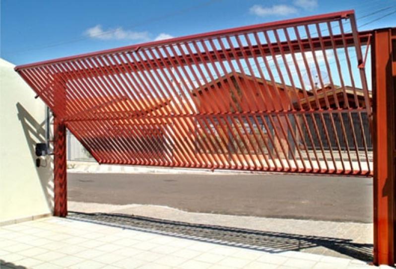 Instalação de Portão de Garagem Preço Franco da Rocha - Instalação de Portão de Garagem