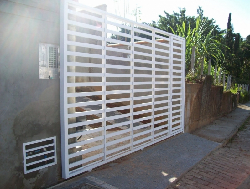 Instalação de Portão de Garagem em Interlagos - Instalação de Motor para Portão Deslizante
