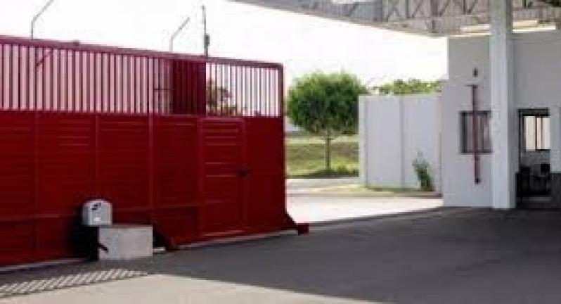 Instalação de Portão Deslizante Ribeirão Pires - Instalação de Portão com Motor