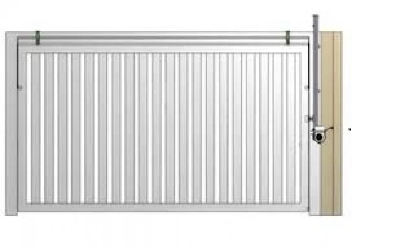 Instalação de Portões Basculantes Preço em Arujá - Instalação de Motor para Portão Deslizante