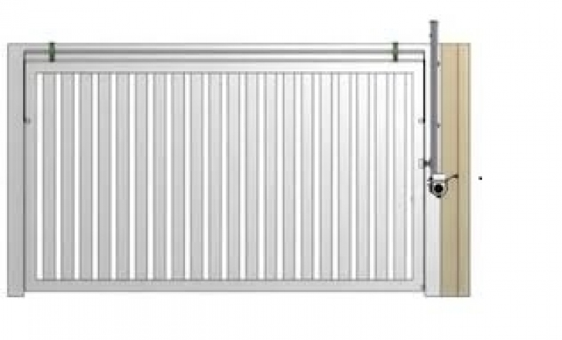 Onde Encontrar Empresa para Instalação de Trava Portão Basculante Cajamar - Empresa para Instalação de Portão de Alumínio