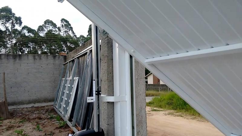 Onde Encontro Empresa para Instalação de Trava Portão Basculante São Bernardo do Campo - Empresa para Instalação de Portão Deslizante