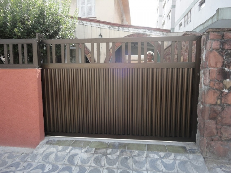 Quanto Custa Instalação de Portão de Alumínio Itaim Paulista - Instalação de Trava Portão Basculante