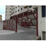 instalação de motor em portão basculante valores Parque São Rafael