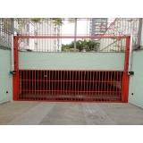 instalação de motor em portão basculante