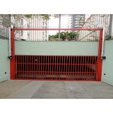 instalação de motor em portão