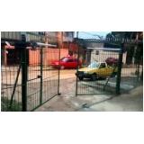 instalação de portão automático pivotante preço Campo Belo
