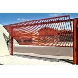instalação de portão de garagem preço em Jandira