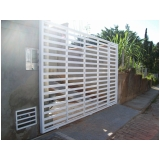 instalação de portão de garagem em Interlagos