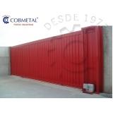 instalação de portão deslizante preço em Pedreira