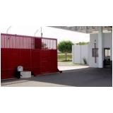 instalação de portão deslizante Santo André