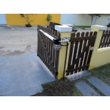 instalação de portões automáticos pivotantes Saúde