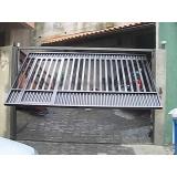 instalação de portão automático basculante