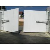 instalação de portão automático pivotante