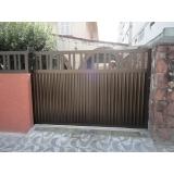 manutenção de portão de alumínio Parque São Lucas