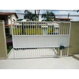 manutenção de portão deslizante preço em Moema