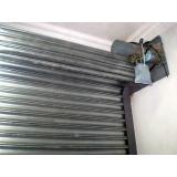 manutenção de portão de aço de enrolar