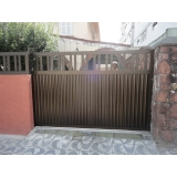 quanto custa instalação de portão de alumínio Capão Redondo