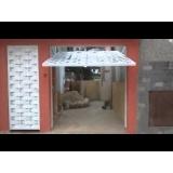 quanto custa instalação de portão de garagem Rio Grande da Serra