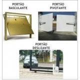 reparo para portão de garagem preço em Mauá
